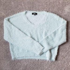 Lulus fuzzy sweater